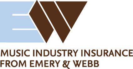 Emery & Webb Insurance for the Music Industry Logo