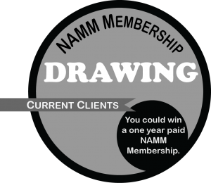 NAMM Membership Drawing