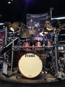 TAMA, Anaheim CA, drums, Winter NAMM