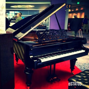 Winter NAMM, grand piano, Anaheim CA