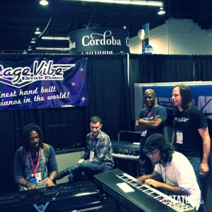 Keyboards, music, Winter NAMM, Anaheim CA