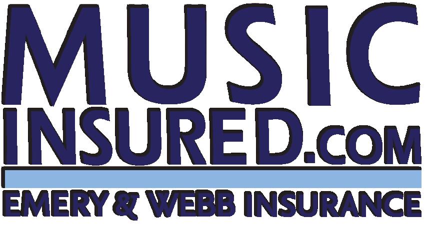 Emery & Webb Insurance for the Music Industry Logo